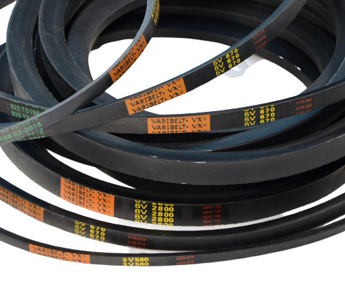 Wedge Wrapped V Belts (3V, 5V, 8V)